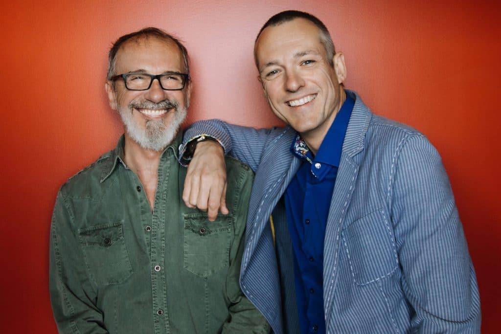 Benoit Lagrandeur et Dany Lefrancois